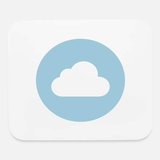 Skies Mouse Pads - Cloud blue sky - Mouse Pad white