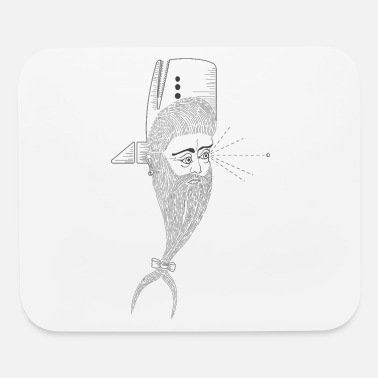 Whale-Man - Mouse Pad