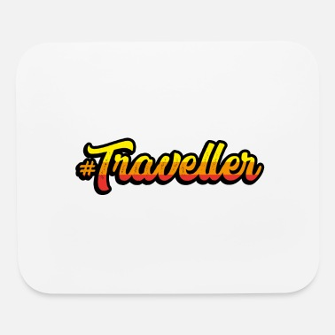 Travel Traveller Travel - Mouse Pad