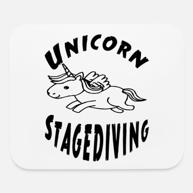 Stagediving Unicorn stagediving - Mouse Pad