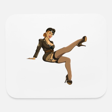 Pinup Pinup army - Mouse Pad