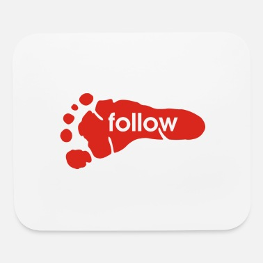 Foot follow foot - Mouse Pad