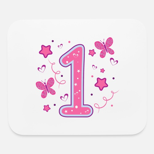 Mouse PadFirst Birthday Girl 1st Quote One Gift