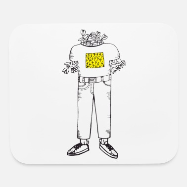 flower boy - Mouse Pad
