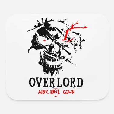 Gown Overlords Graphic Skul Ainz Ooal Gown 1 - Mouse Pad