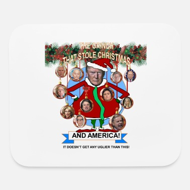 Grinch The Grinch who stole America - Mouse Pad