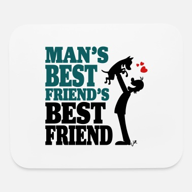 Best Friend And Man's best friend's best friend - Mouse Pad