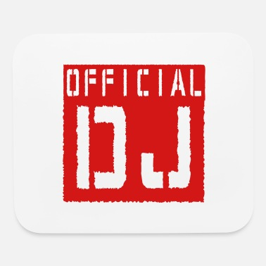 Official Person Official DJ - Mouse Pad