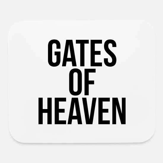 Heaven Mouse Pads - Gates of heaven - Mouse Pad white