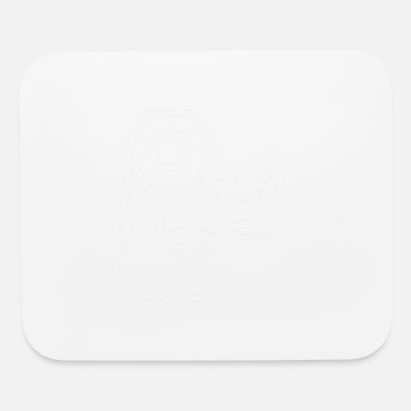Lift Elevator Dumbell Lifting Lift - Mouse Pad