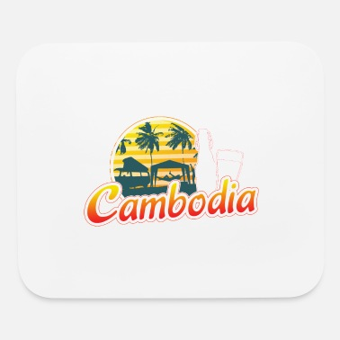 Retirement Cambodia Traveller Travelling Gift For Men And - Mouse Pad