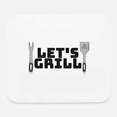Grill Utensils Let's grill - Mouse Pad