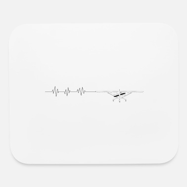 Frequency Airplane - Mouse Pad