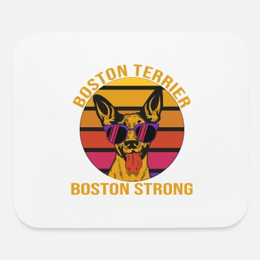 Boston Strong Boston terrier boston strong - Mouse Pad