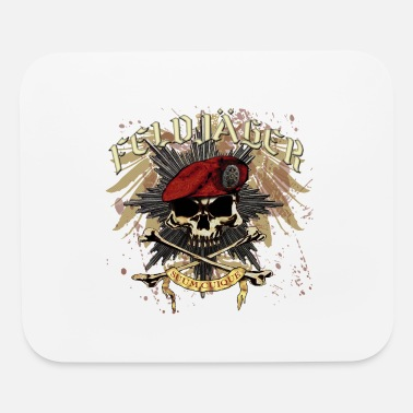 Feldjager MP Skull Prussian Star Eagle - Mouse Pad