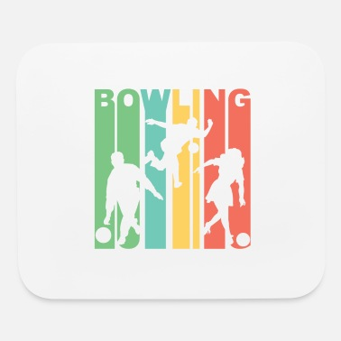 Bowling Design Retro Bowling - Mouse Pad
