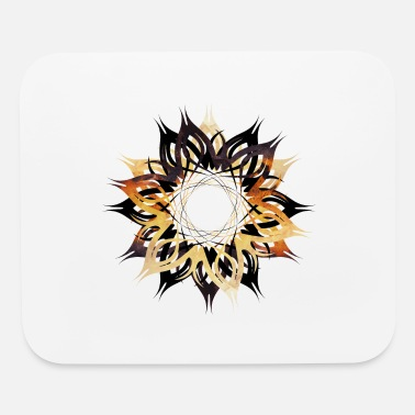 SHARP_TRIBAL_INK - Mouse Pad