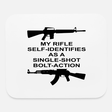 Bolt Action My Rifle Self Identifies As A Single Shot Bolt Act - Mouse Pad