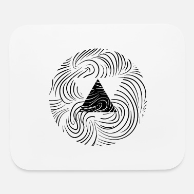 Psychic Psychic Tricircle - Mouse Pad