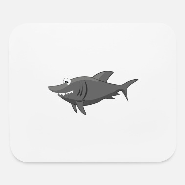 Cartoon Shark Cartoon Shark - Mouse Pad