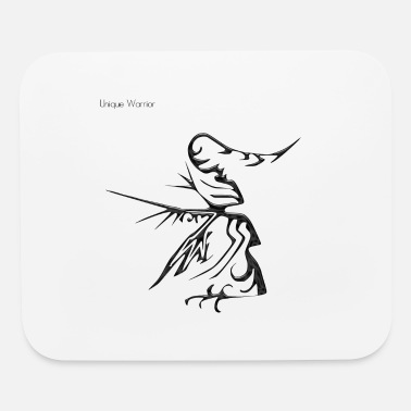 Unique Horn unique warrior his name is cuerno which means horn - Mouse Pad