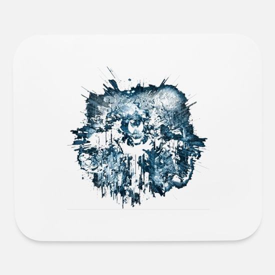 Geek Mouse Pads - venom city v2 - Mouse Pad white