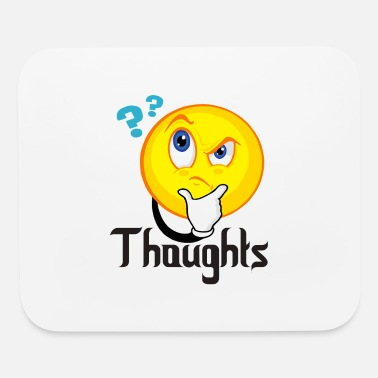 Thoughts Thoughts - Mouse Pad