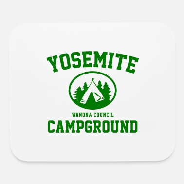Campground Yosemite Campground - Mouse Pad