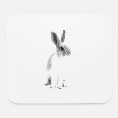 White Rabbit White Rabbit. - Mouse Pad
