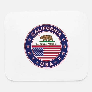 Car Sticker CALIFORNIA - Mouse Pad