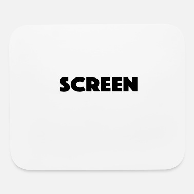 Screen screen - Mouse Pad
