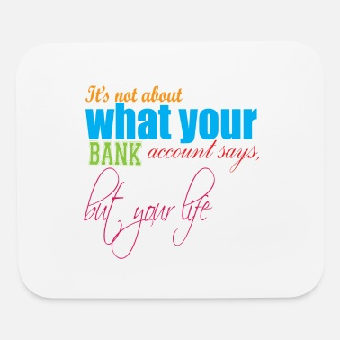 Provocation Money cash satisfied wisdom provocative joy - Mouse Pad