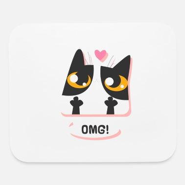 Cat Love Cat love - Mouse Pad