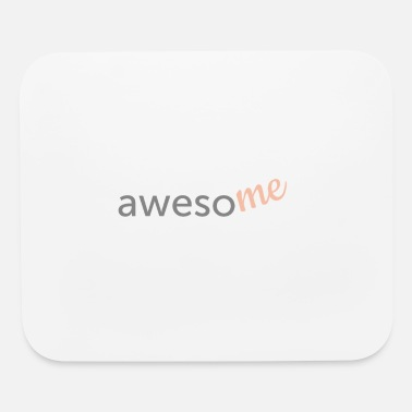 Awesome Two awesome lyric shirt design two-toned - Mouse Pad