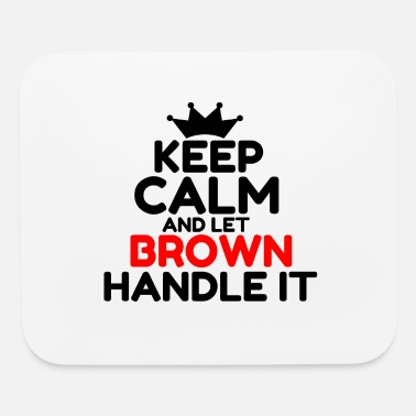 Brown BROWN - Mouse Pad