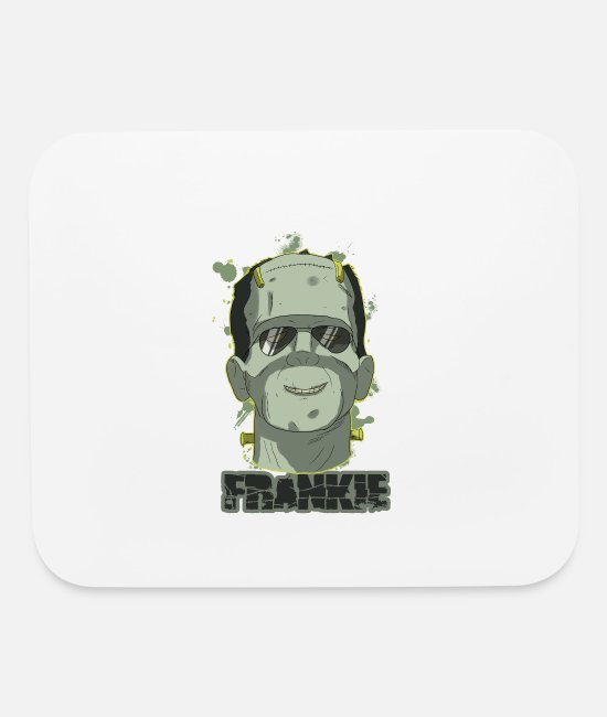Halloween Costume Mouse Pads - Frankie - Mouse Pad white