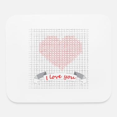 I Love I love you - Mouse Pad