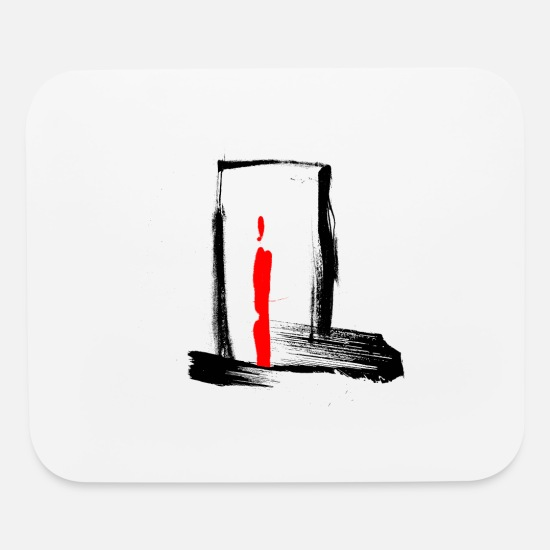 Goalkeeper Mouse Pads - The Gate - Mouse Pad white