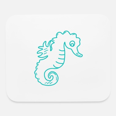 Poor Poor seahorse - Mouse Pad