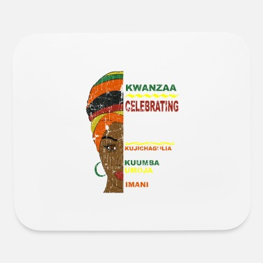 Happy Kwanzaa African Woman - Mouse Pad