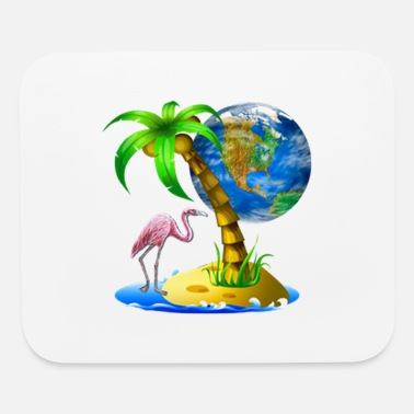 Coconutpalm Tropical Scene - Mouse Pad