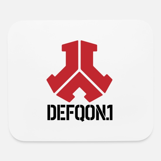 DEFQON 1 Stickers T-shirts Hoodies Phone cases Etc Mouse pad Horizontal -  white