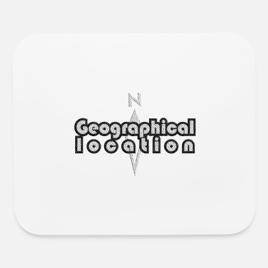 Geographic Geographical Location - Mouse Pad