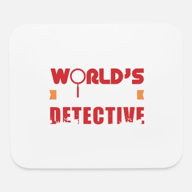 Investigacion Detective - World's Best Detective - Gift Idea - Mouse Pad