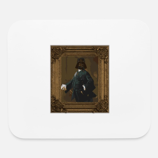 Dark Side Mouse Pads - Darth Vintage | Style Wars - Mouse Pad white