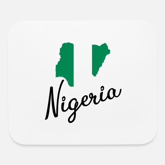 Nigeria   Africa   Country   Map   Borders   Abuja Mouse Pad