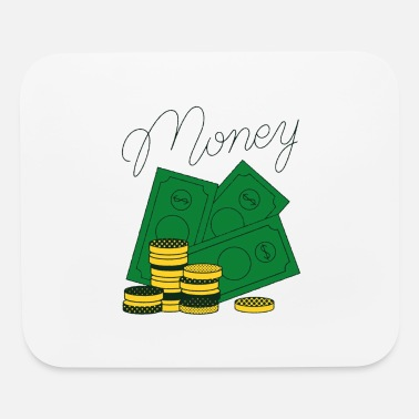 Vector Money Vector - Mouse Pad