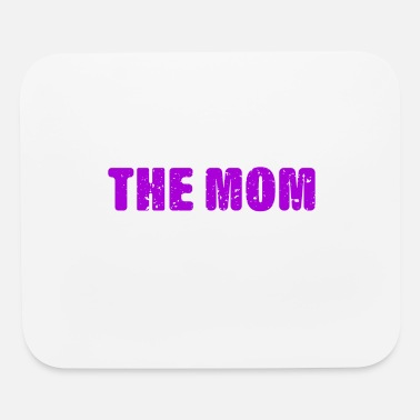 Shes The Boss Wife The Mom The Boss The Legend Family T-Shirt - Mouse Pad