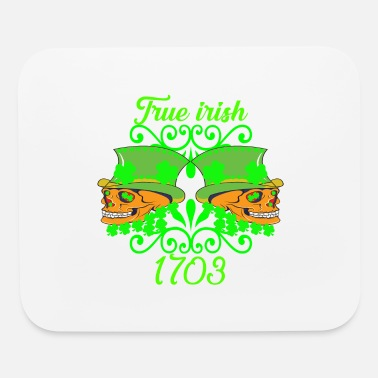 Shamrock TRUE IRISH Ireland Gift - Mouse Pad