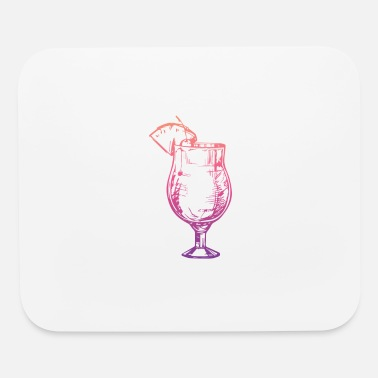 Alcohol Gin - Mouse Pad